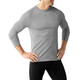 Smartwool M's Merino 150 Pattern LS Baselayer Light Gray